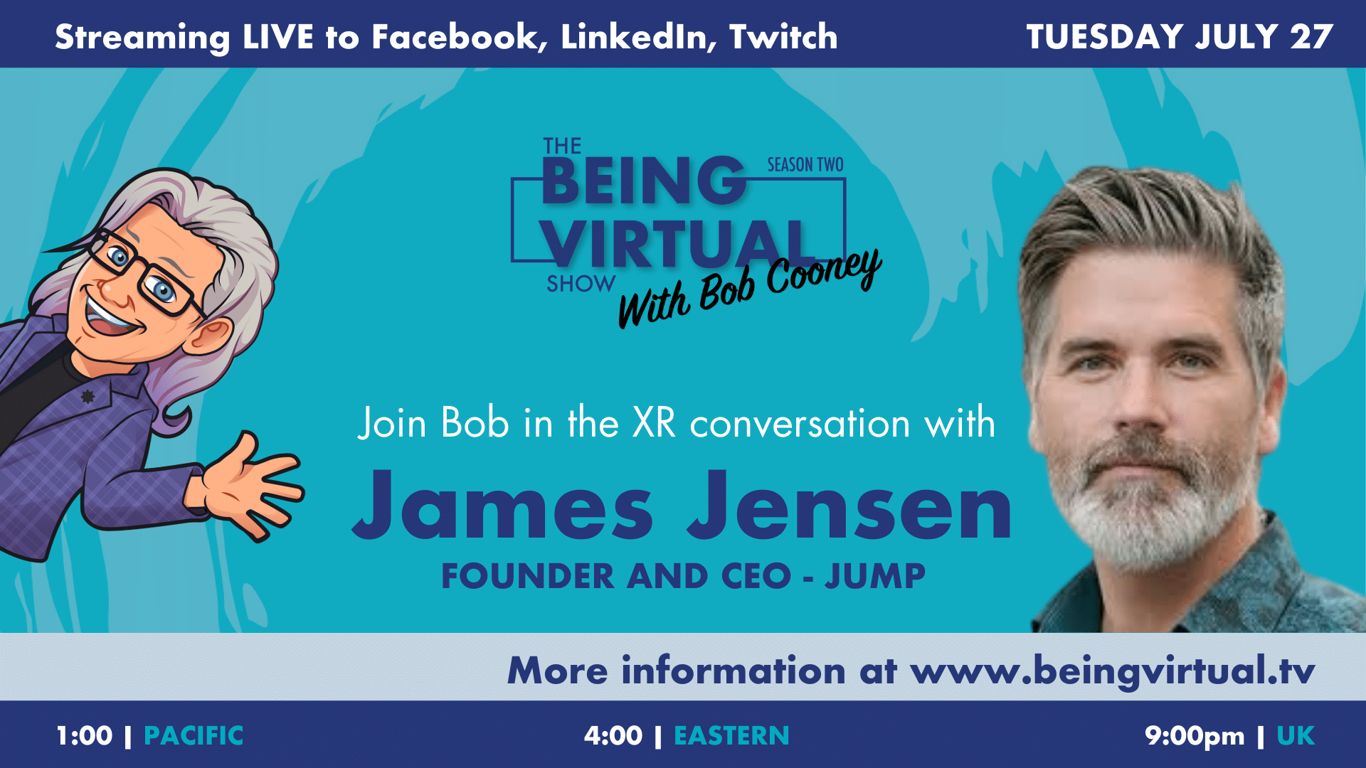 James Jensen Makes the JUMP to Create a VR Wingsuit Flying Attraction (1:15:45)